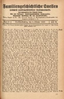 Familiengeschichtliche Quellen, 1937/1939, Bd. 9, H. 80 (Pete-Pill)