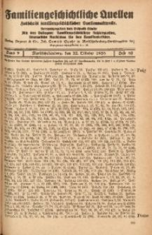 Familiengeschichtliche Quellen, 1937/1939, Bd. 9, H. 82 (Poig-Preu)