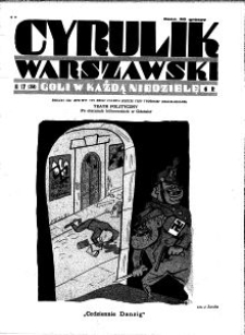 Cyrulik Warszawski, 1931, R. 6, nr 17