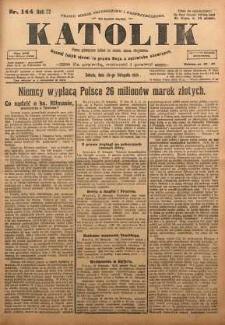 Katolik, 1924, R. 57, nr 144