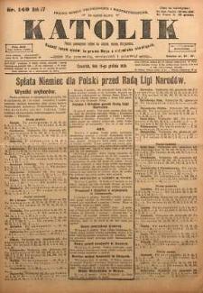 Katolik, 1924, R. 57, nr 149