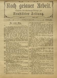 Nach Getaner Arbeit, 1916, Nr. 197