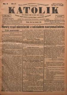 Katolik, 1925, R. 58, nr 3