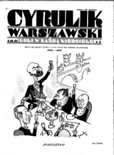 Cyrulik Warszawski, 1931, R. 6, nr 20
