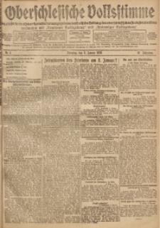 Oberschlesische Volksstimme, 1920, Jg. 46, Nr. 4
