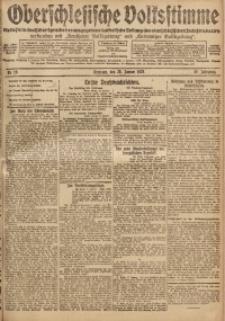 Oberschlesische Volksstimme, 1920, Jg. 46, Nr. 15