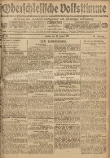 Oberschlesische Volksstimme, 1920, Jg. 46, Nr. 18