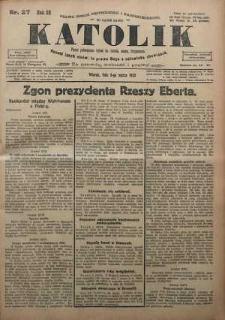 Katolik, 1925, R. 58, nr 27