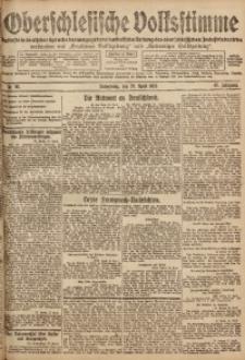 Oberschlesische Volksstimme, 1920, Jg. 46, Nr. 98