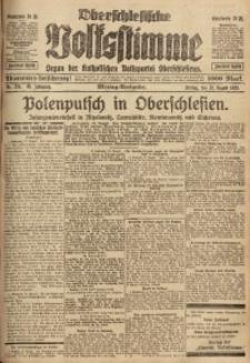 Oberschlesische Volksstimme, 1920, Jg. 46, Nr. 224