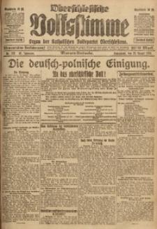 Oberschlesische Volksstimme, 1920, Jg. 46, Nr. 237
