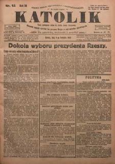 Katolik, 1925, R. 58, nr 41