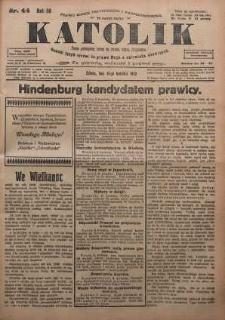 Katolik, 1925, R. 58, nr 44