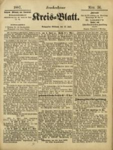 Frankensteiner Kreis-Blatt, 1887, Nro. 51