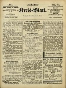 Frankensteiner Kreis-Blatt, 1887, Nro. 80