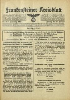 Frankensteiner Kreisblatt, 1938, Nr. 16