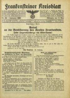 Frankensteiner Kreisblatt, 1938, Nr. 36