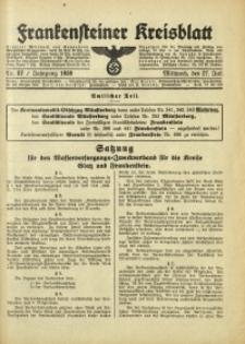 Frankensteiner Kreisblatt, 1938, Nr. 57