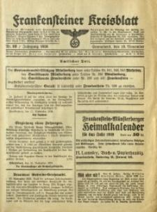 Frankensteiner Kreisblatt, 1938, Nr. 89