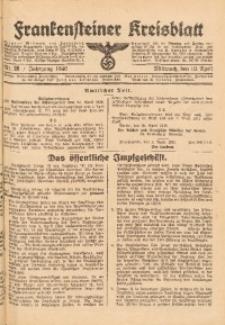 Frankensteiner Kreisblatt, 1940, Nr. 28