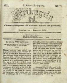 Freikugeln, 1832, Jg. 6, Nr. 71