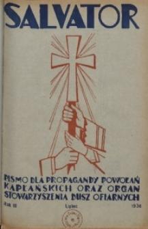 Salvator, 1936, R. 3, lipiec