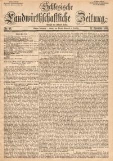 Schlesische Landwirthschaftliche Zeitung, 1864, Jg. 5, Nr. 46