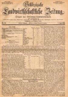 Schlesische Landwirthschaftliche Zeitung, 1866, Jg. 7, Nr. 23