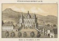 Kirche zu Albendorf i. J. 1737