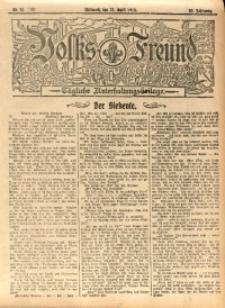 Volks-Freund, 1912, Jg. 38, Nr. 92