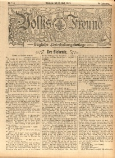 Volks-Freund, 1912, Jg. 38, Nr. 114