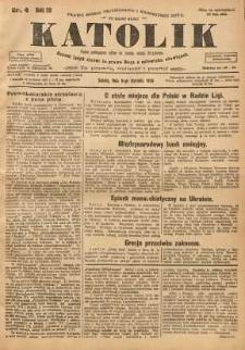 Katolik, 1926, R. 59, nr 4
