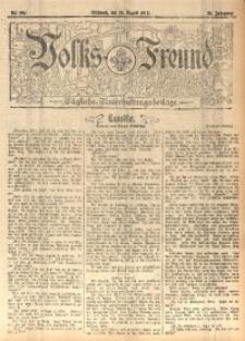 Volks-Freund, 1912, Jg. 38, Nr. 196