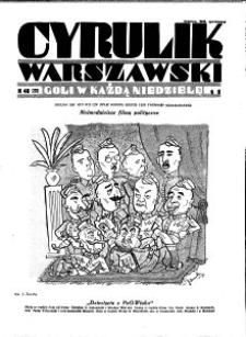 Cyrulik Warszawski, 1931, R. 6, nr 40