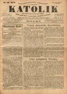 Katolik, 1926, R. 59, nr 19