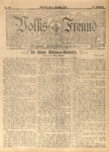 Volks-Freund, 1912, Jg. 38, Nr. 278