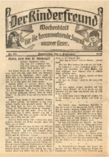 Der Kinderfreund, 1912, Nr. 36