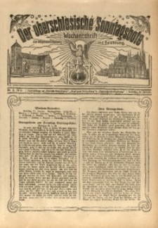 Der Oberschlesische Sonntagsbote, 1915, Nr. 5