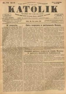 Katolik, 1926, R. 59, nr 70