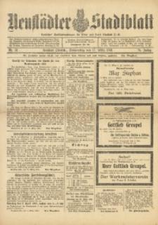 Neustädter Stadtblatt, 1921, Jg. 76, Nr. 31