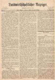Landwirthschaftlicher Anzeiger, 1861, Jg. 2, Nr. 5