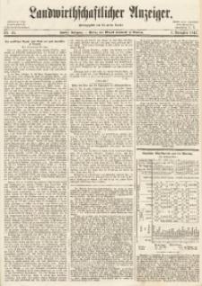 Landwirthschaftlicher Anzeiger, 1861, Jg. 2, Nr. 45