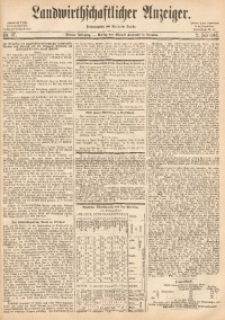 Landwirthschaftlicher Anzeiger, 1863, Jg. 4, Nr. 27