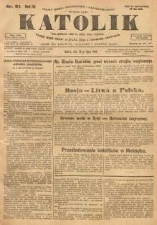 Katolik, 1926, R. 59, nr 91