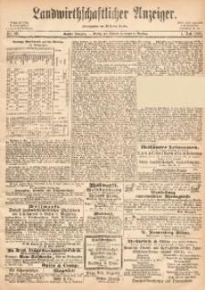 Landwirthschaftlicher Anzeiger, 1865, Jg. 6, Nr. 22
