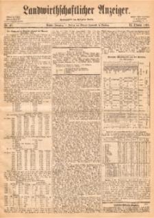 Landwirthschaftlicher Anzeiger, 1865, Jg. 6, Nr. 41