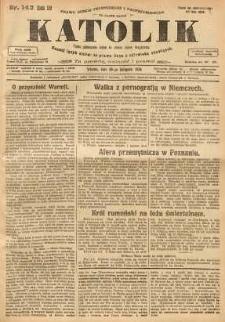 Katolik, 1926, R. 59, nr 143