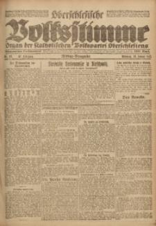 Oberschlesische Volksstimme, 1921, Jg. 47, Nr. 40