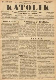 Katolik, 1926, R. 59, nr 145