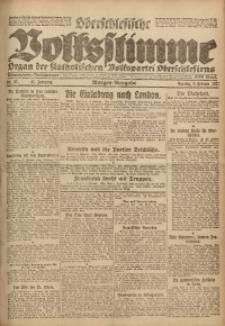 Oberschlesische Volksstimme, 1921, Jg. 47, Nr. 57
